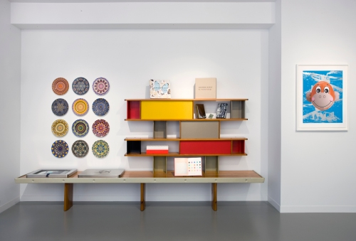 Damien Hirst Products- Collaboration between Jean Prouve & Charlotte Perriand